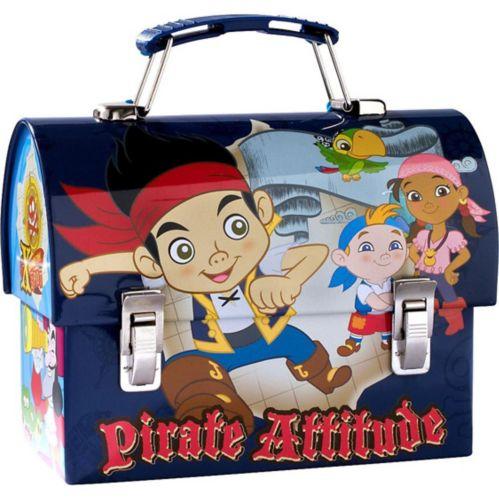 Mini boîte en métal Jake et les pirates du pays imaginaire