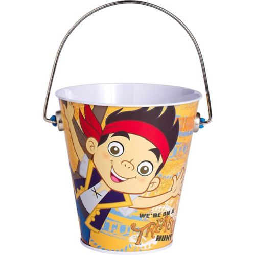 Jake and the Never Land Pirates Metal Pail