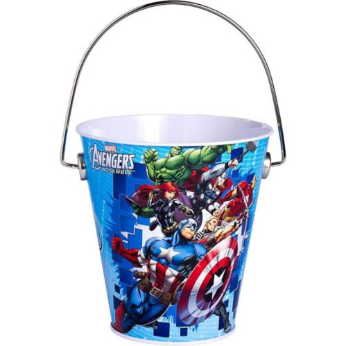 Seau en métal Avengers
