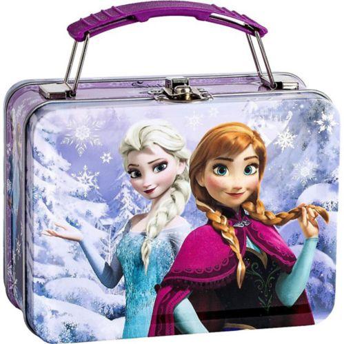 Mini boîte en métal La Reine des neiges