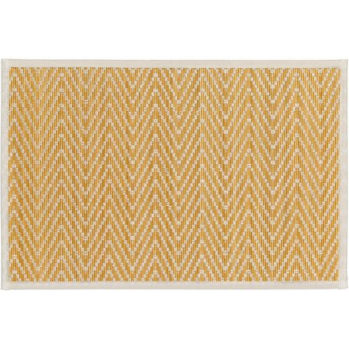 Chevron Bamboo Placemats, 17.5-in x12-in