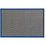 Royal Blue Chevron Bamboo Placemat