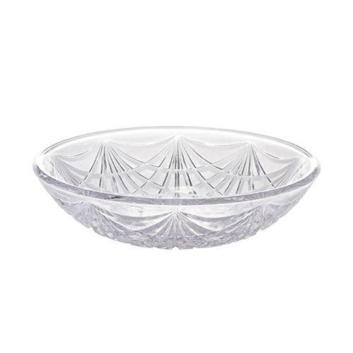 Plastic Crystal Cut Bowl, 6-in Product image