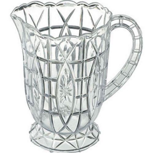 Cruche en plastique taillée de style cristal Image de l'article