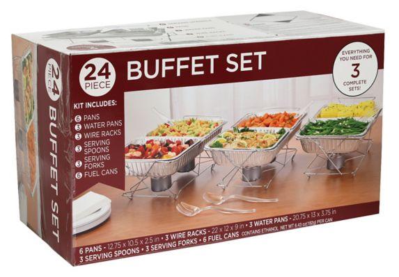 Ensemble pour buffet, paq. 24