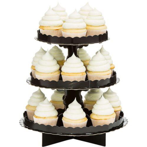 Présentoir à petits gâteaux, noir Image de l'article