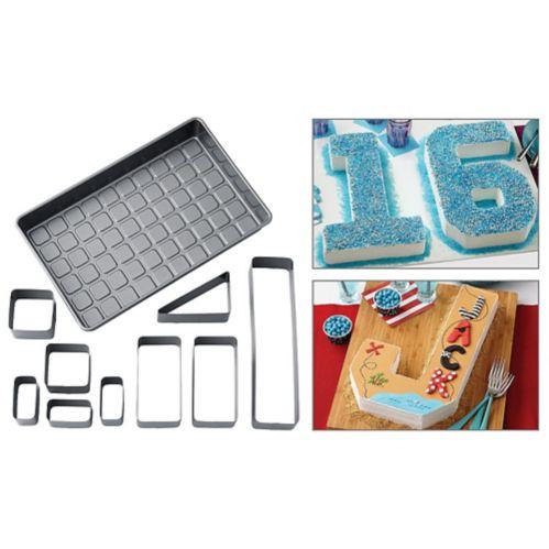 Ensemble de moules à gâteaux chiffres et lettres de Wilton, paq. 10 Image de l'article