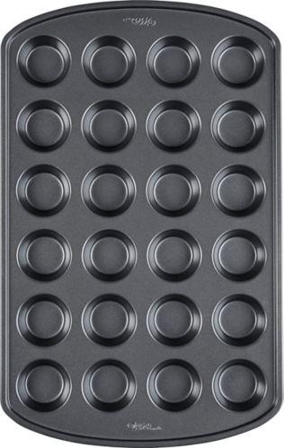 Cavity Mini Muffin Pan, 24-Cup
