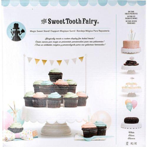 Présentoir à gâteau blanc, 12 po Image de l'article