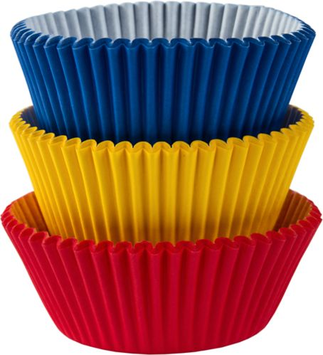 Primary Colours Baking Cups, 75-pk Product image