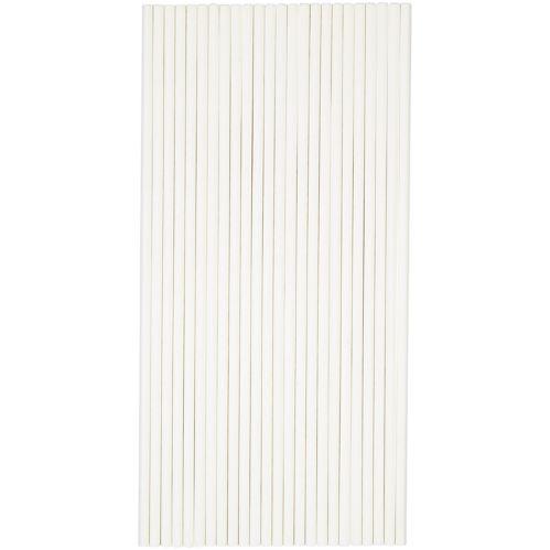 Cookie Sticks, White, 8-in, 20-pk