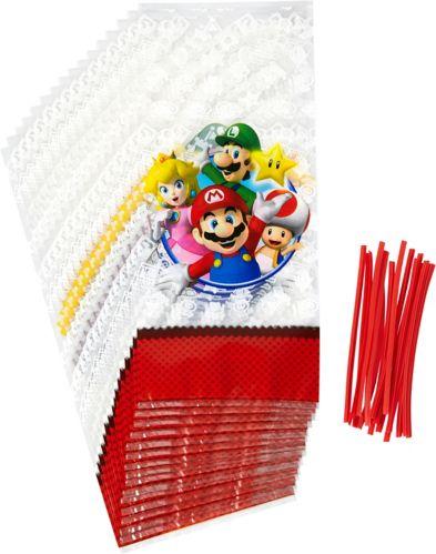 Super Mario Bros. Treat Bags, 16-pk
