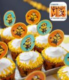 Wilton Minions Fun Picks Cupcake Toppers, 18-pk | Wiltonnull