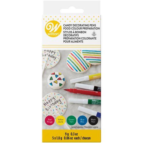 Wilton Edible Decorating Colour Pens, 5-pc Product image