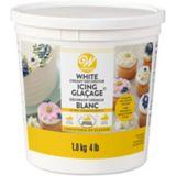 Pot de glaçage décoratif blanc crémeux Wilton, 4 lb | Wiltonnull