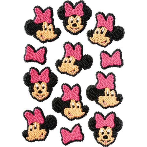 Décorations de glaçage MinnieMouse, paq. 12 Image de l'article