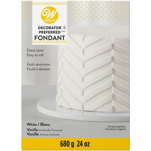 Wilton Decorator Preferred White Fondant Icing Product image