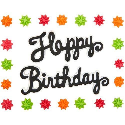 Wilton Happy Birthday Icing Decorations, 40-g Product image