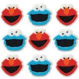 Décorations de glaçage Elmo, paq. 9