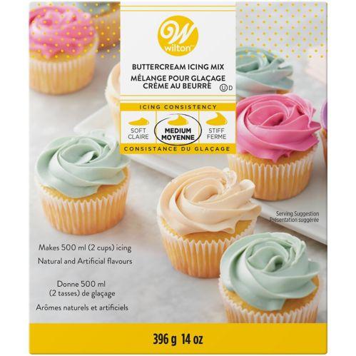 Mélange à glaçage blanc à la crème au beurre Wilton, 14 oz
