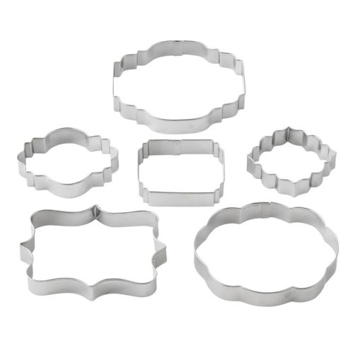 Wilton Plaque Cutters, 6-pc Product image