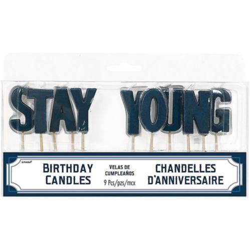 Bougies sur pique Stay Young, paq. 9 Image de l'article