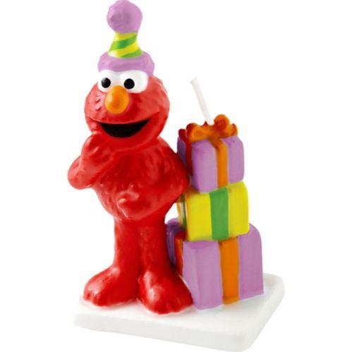 Elmo Birthday Candle