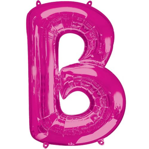 Pink Letter Balloon