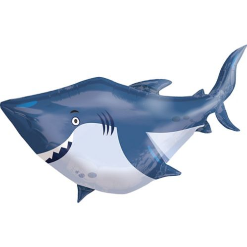 Giant Under the Sea Shark Balloon, 40-in