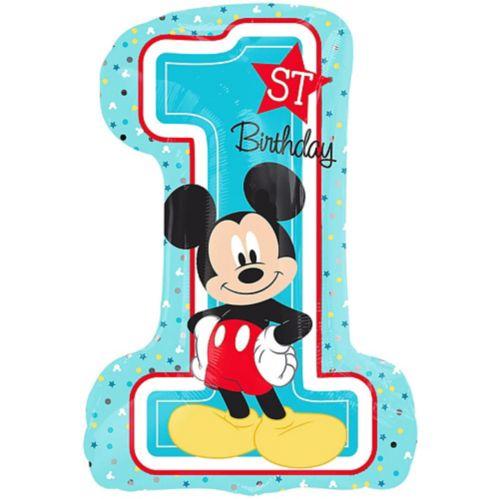 Ballon géant 1er anniversaire Mickey Mouse