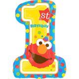 Elmo 1st Birthday Balloon, 28-in | Amscannull