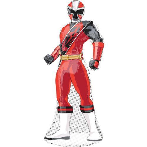 Power Rangers Ninja Steel Red Ranger Balloon, 42-in Product image