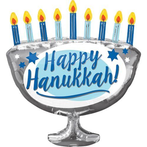 Ballon bougies de la ménorah de Hanoukka, 26 po