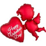 Giant Cupid Happy Valentine's Day Balloon, 34-in | Amscannull