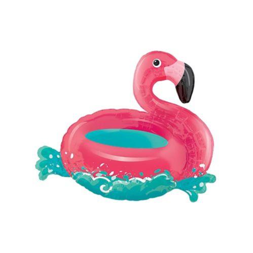 Giant Flamingo Pool Float Balloon, 30-in