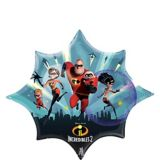 Giant Incredibles 2 Balloon, 35-in | Amscannull