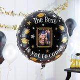 The Best Is Yet To Come Graduation Photo Balloon, 32-in