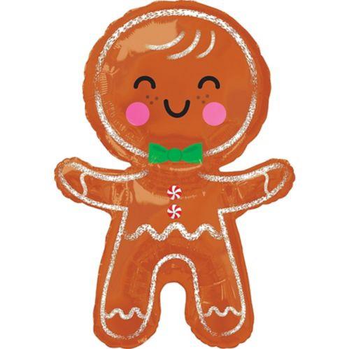 Giant Gingerbread Man Balloon, 22-in