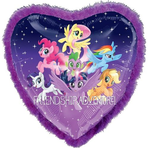 Giant My Little Pony Friendship Adventure Boa Heart Balloon