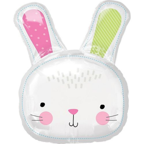 Giant Hello Bunny Balloon, 24-in