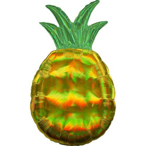 Ballon géant d'ananas, irisé, 31 po