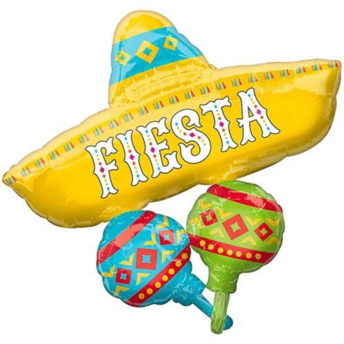 Giant Fiesta Sombrero Balloon, 31-in