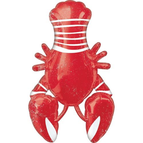 Giant Seafood & Summer Lobster Balloon, 24-in