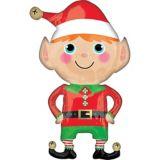 Happy Christmas Elf Balloon, 22-in | Amscannull