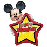 Giant Personalized Mickey Mouse Forever Birthday Balloon | Amscannull