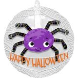 See Thru Purple Spider Balloon | Amscannull
