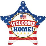 Giant Patriotic Welcome Home Star Balloon | Amscannull