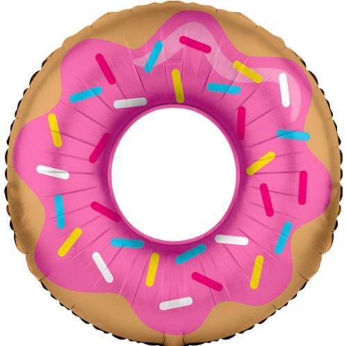 Donut Mylar Balloon