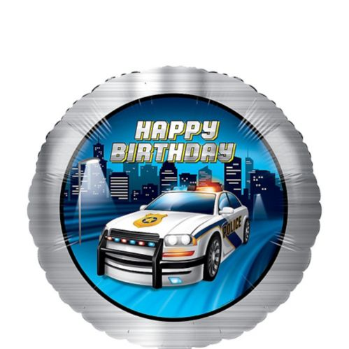 Police Party Mylar Balloon Product image