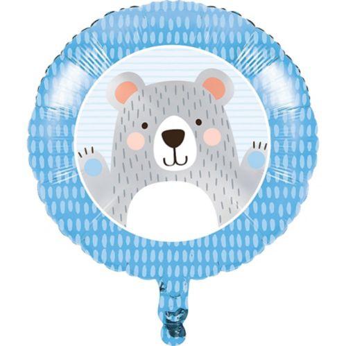 Beary Cute Balloon, 18-in, 10-pk